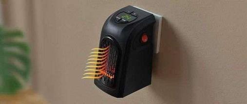 Портативний міні електрообігрівач Handy Heater 400W | Керамічний обігрівач тепловентилятор, фото 3