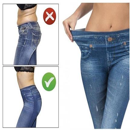 Корректирующие джинсы Slim`N Lift jeggings Caresse Jeans   Утягивающие лосины, фото 2