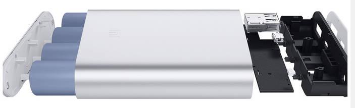 Power Bank Xiaomi Mi 10400 mAh   Повербанк   Зовнішній акумулятор   Портативна батарея, фото 3