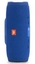 Портативная блютуз Колонка JBL Charge 3   Синяя, фото 3