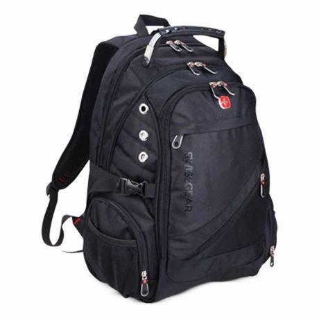 Швейцарский городской Рюкзак SwissGear 8810   Рюкзак с выходом под наушники