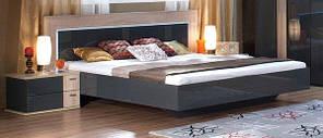 Кровать Embawood Капри дуб сонома серая 160