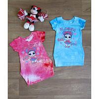Платье-туника для девочки с внутренними карманами хлопок , детская одежда в интернет магазине Пумба