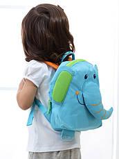 Детский рюкзак Sigikid 24621SK Слоник Голубой, фото 3