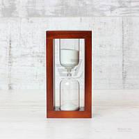 Часы песочные 4-31 10 мин вишня/белый 300605 Стеклоприбор T593695