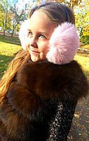 Детские наушники меховые, много цветов, фото 1