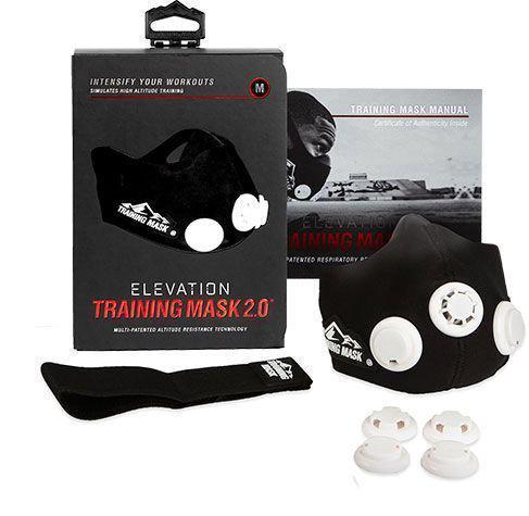 Тренировочная дыхательная маска для бега Elevation Training Mask 2.0 | Маска для тренировки дыхания