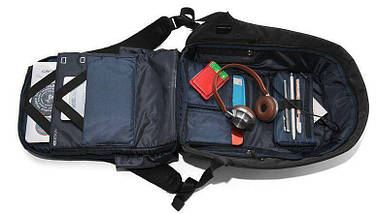Городской рюкзак антивор Bobby Backpack   Синий, фото 3