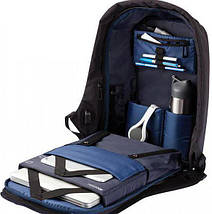 Городской рюкзак антивор Bobby Backpack   Синий, фото 2