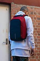 Городской рюкзак антивор Bobby Backpack | Красный, фото 3