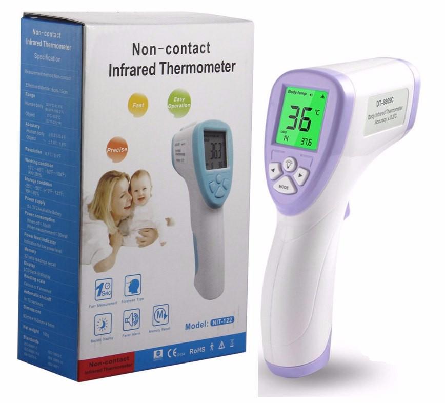 Безконтактний інфрачервоний термометр NON CONTACT | Цифровий термометр