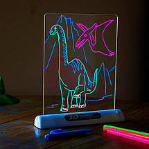 Магическая 3D доска для рисования Magic Drawing Board 3D | Планшет для рисования, фото 3