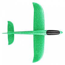Метательный Самолёт планер трюкач на дальнее расстояние | Зеленый, фото 3