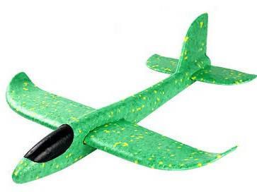 Метательный Самолёт планер трюкач на дальнее расстояние | Зеленый, фото 2