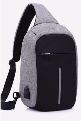 Городской рюкзак антивор Bobby Mini с USB с защитой от карманников | Городской рюкзак-антивор