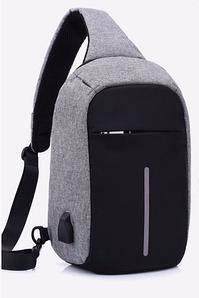 Рюкзак міський протикрадій Bobby Mini USB з захистом від кишенькових злодіїв | Міський рюкзак-протикрадій