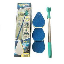 Швабра Губка для Чистки Clean Reach 3 в 1   Щетка Для Очистки, фото 3