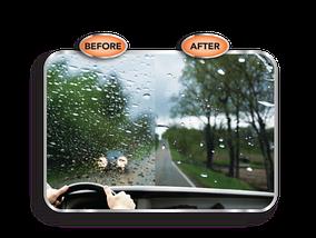 Антидождь для стекол автомобиля RAIN BRELLA   Жидкость для защиты стекла от воды и грязи, фото 3