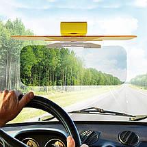 Антибликовый автомобильный козырек HD Vision Visor   Солнцезащитный козырек, фото 3