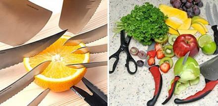 Набір кухонних ножів c магнітним утримувачем Contour Pro Knives | Контр Про, фото 3