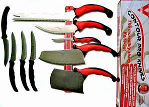 Набір кухонних ножів c магнітним утримувачем Contour Pro Knives | Контр Про, фото 2