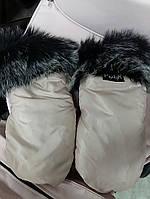 Муфта- рукавички на коляску і санки на магнітах.