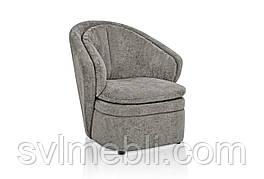 Кресло Диана велюр серый