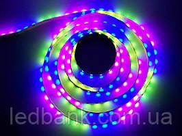 Светодиодная лента Бегущая волна SMD 5050 54 LED/m RGB Magic IP65 Premium