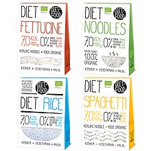 Органическая рисовая лапша (коричневая) 100%,Diet Food 250г