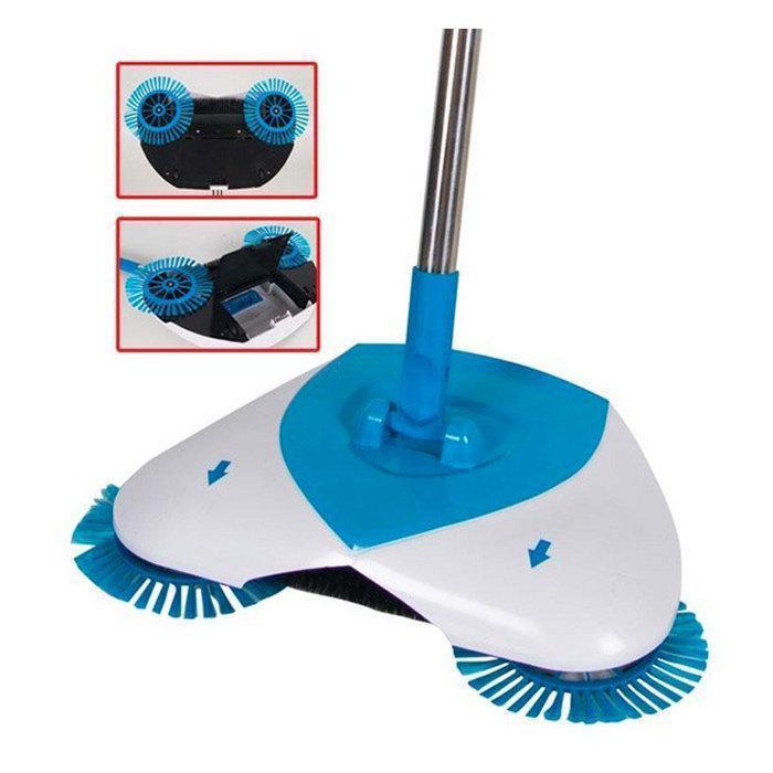 Механічний віник щітка Hurricane Spin Broom   Швабра для прибирання підлоги