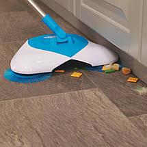 Механічний віник щітка Hurricane Spin Broom   Швабра для прибирання підлоги, фото 3