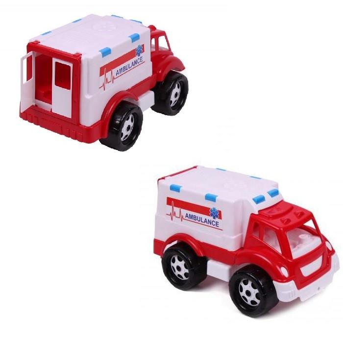 Скорая помощь ТехноК 4579 детская машинка пластик