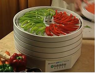 Электросушители для овощей и фруктов
