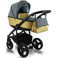 Дитяча коляска BEXA FRESH LIGHT FL 16 Золотий з сірим 3072018071, КОД: 126133