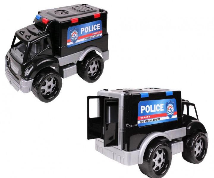 Полиция ТехноК 4586 игрушечная детская машинка пластмассовая
