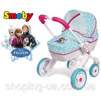 Коляска для кукол Frozen Pop Pram Smoby 511345, фото 2