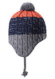 Зимняя шапка-бини для мальчика Reima Nuutti 518534-6981. Размеры 46 - 50., фото 3