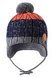 Зимняя шапка-бини для мальчика Reima Nuutti 518534-6981. Размеры 46 - 50., фото 2