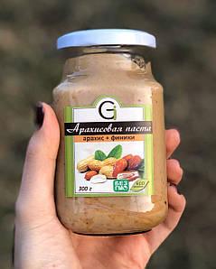 Арахисовая паста Gi. 300 г. С крошкой арахиса.