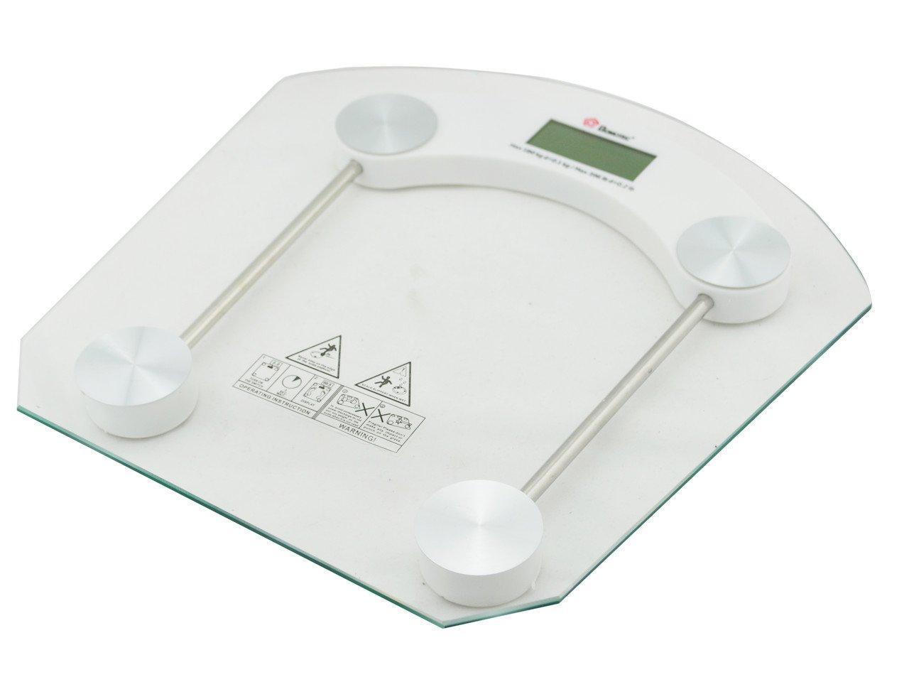 Электронные напольные весы Domotec MS-2003B до 180 кг Квадратные