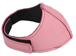 Автопятка кожаная для женской обуви розовый  608835-11
