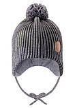 Зимняя шапка-бини для мальчика Reima Weft 518536-8930. Размеры 46 - 52., фото 2