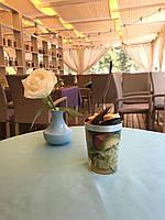 Вилки десертные стекловидные , плотные для презентации выставки party. Полная сервировка стола CFP 24 шт 130мм, фото 1