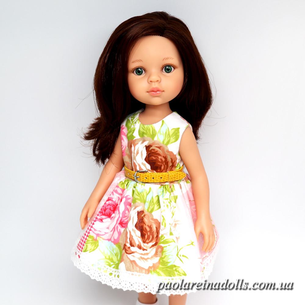 """Платье """"Пэчворк"""" для кукол Паола Рейна"""