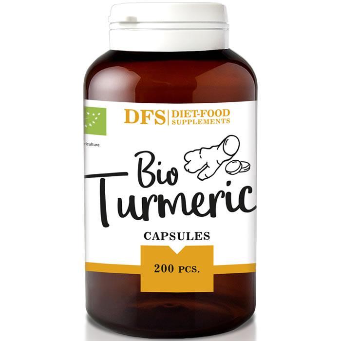 Био куркума (Bio turmeric) 200 капс Diet Food