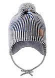 Зимняя шапка-бини для мальчика Reima Weft 518536-6500. Размеры 46 - 52., фото 2