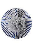 Зимняя шапка-бини для мальчика Reima Weft 518536-6500. Размеры 46 - 52., фото 5