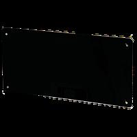 Стеклокерамическая нагревательная  панель HGlass IGH 6012 чёрная 800/400 Вт