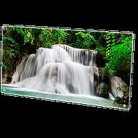 HGlass IGH 6012 фотопечать 800/400 Вт инфракрасный стеклокерамический панельный обогреватель , фото 1