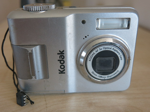 Camera/computer communications
